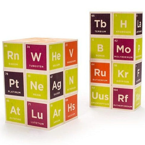 Uncle Goose Periodic Table Building Blocks - Bloxx Toys - Toronto Online Toys Store - Canada