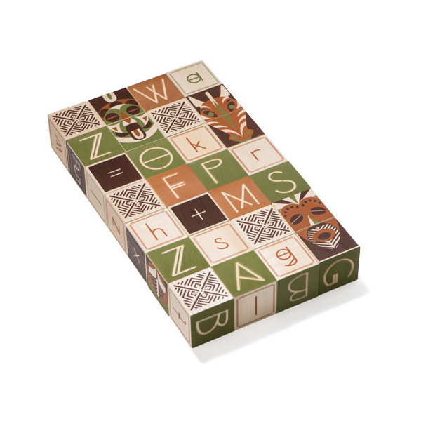Uncle Goose Swahili ABC Blocks - Bloxx Toys - Toronto Online Toys Store - 2
