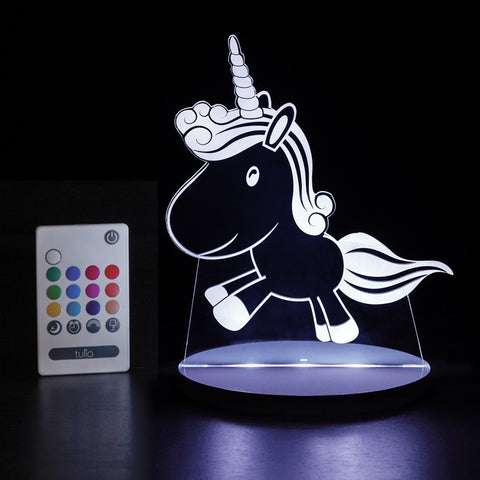 Unicorn Multi Coloured LED Night Light By Tulio Dream Lights - Bloxx Toys - Toronto Online Toys Store