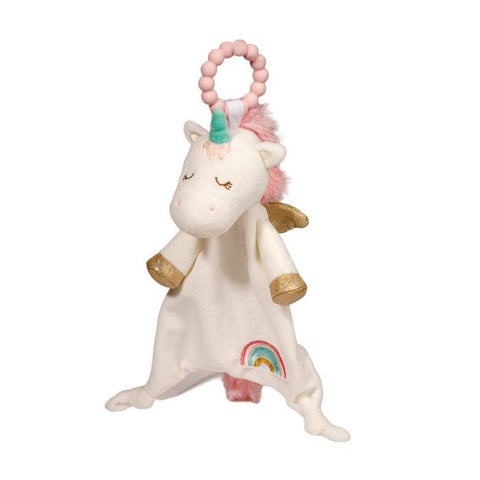 Unicorn lil Sshlumpie Teether By Douglas baby toy,soft toy,kids toy,from birth toy