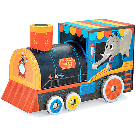 Locomotive Puzzle & Play Set - 24 pc - Bloxx Toys - Toronto Online Toys Store - 4