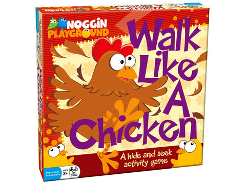 Walk Like A Chicken Family Game By Noggin Playground -Bloxx Toys-Toronto toys, toy, Montreal toys, Alberta toys, Ontario toys, Quebec toys, Children Toys,Kids Toys,Educational toys Online Toys Store Canada