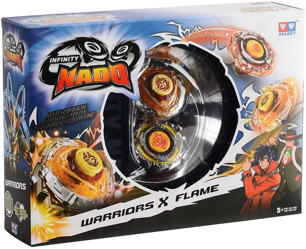 Warriors & Blast Flame Spinning Toy By Infinity Nado - Bloxx Toys - Toronto, Montreal, Vancouver, Kids, Parents, Present, Shopping online, Ontario, Quebec, - Educational Online Toys Store Canada