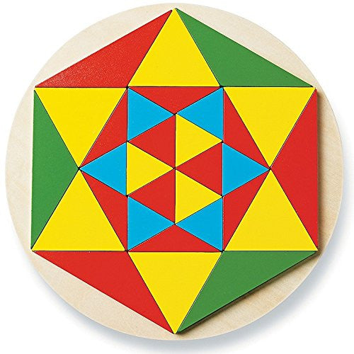 Wooden Mosaic Puzzle By MindWare - Bloxx Toys - Toronto Online Toys Store - 2