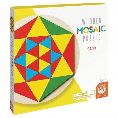 Wooden Mosaic Puzzle By MindWare - Bloxx Toys - Toronto Online Toys Store - 1
