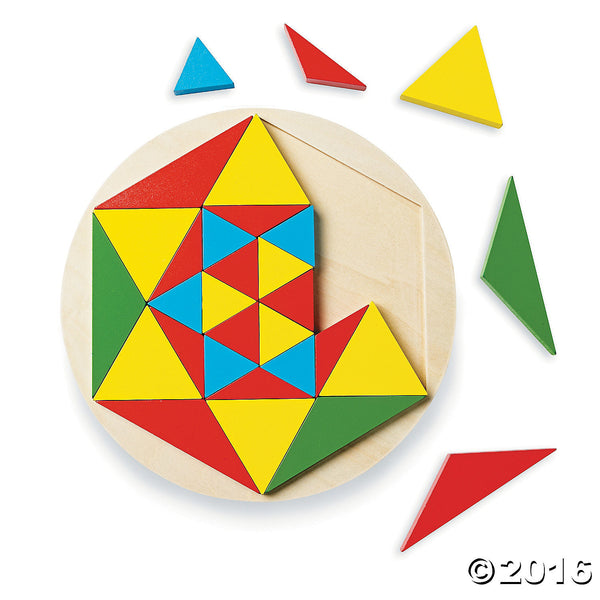 Wooden Mosaic Puzzle By MindWare - Bloxx Toys - Toronto Online Toys Store - 3
