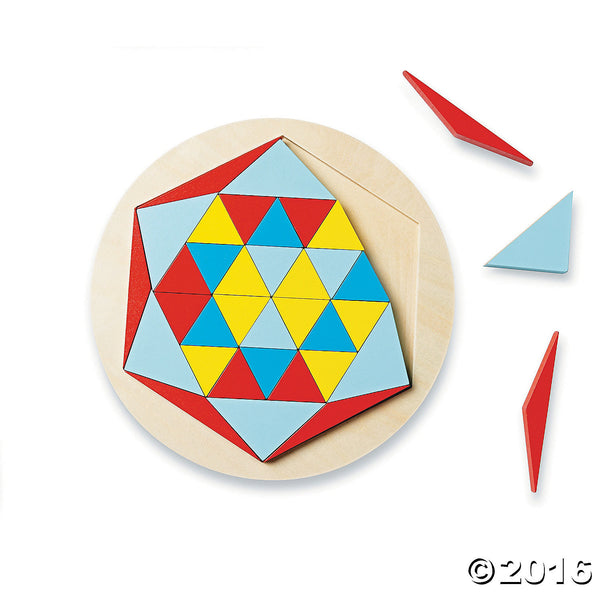 Wooden Mosaic Star By MindWare - Bloxx Toys - Toronto Online Toys Store - 2