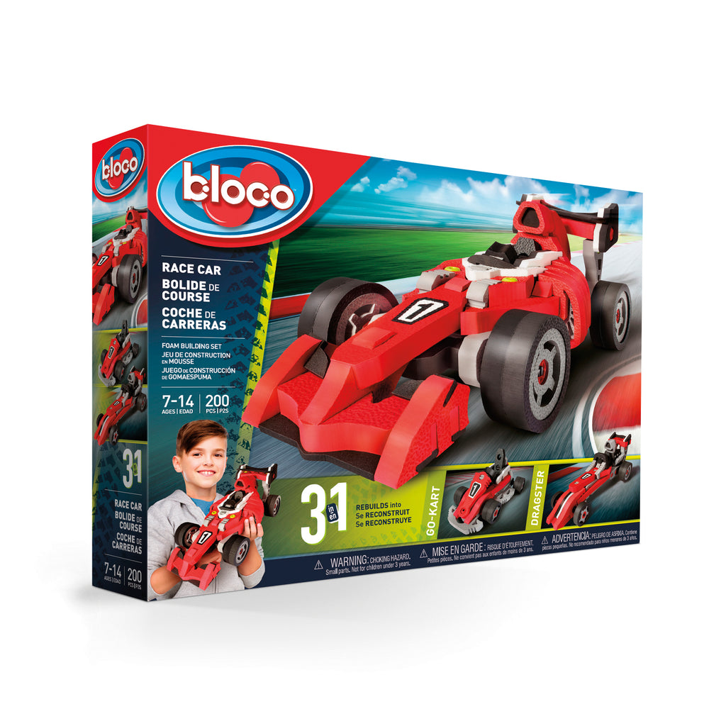 Bloco 3 in 1 Race Car