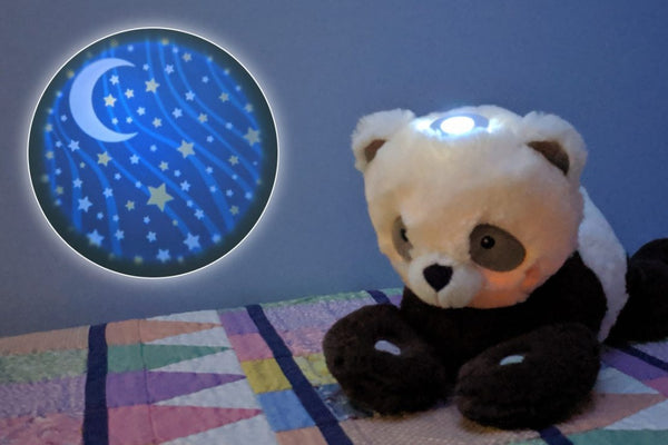 Starlight Musical Projector Panda by Douglas