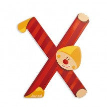 A-Z Janod Wooden Letters - Bloxx Toys - Toronto Online Toys Store - 24