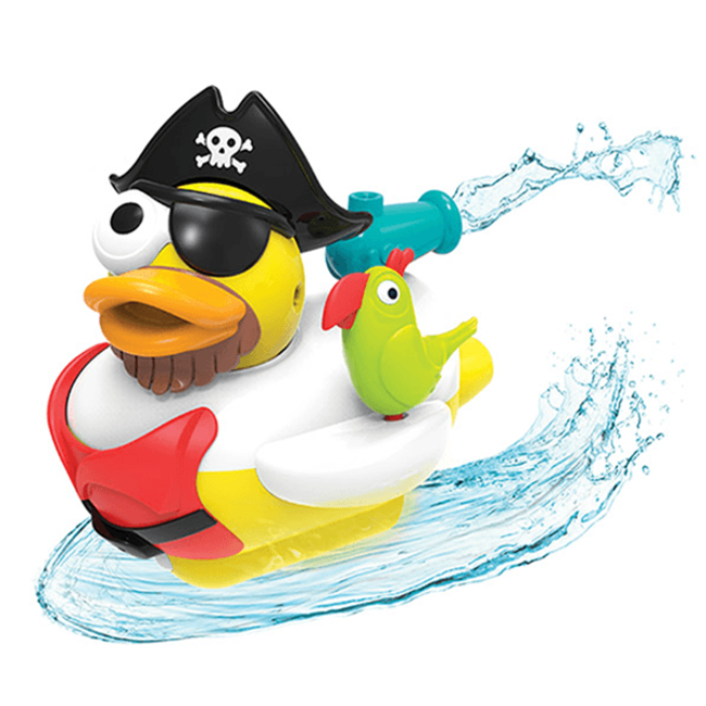 Jet Duck Pirate - Educational Bath Toy By Yookidoo