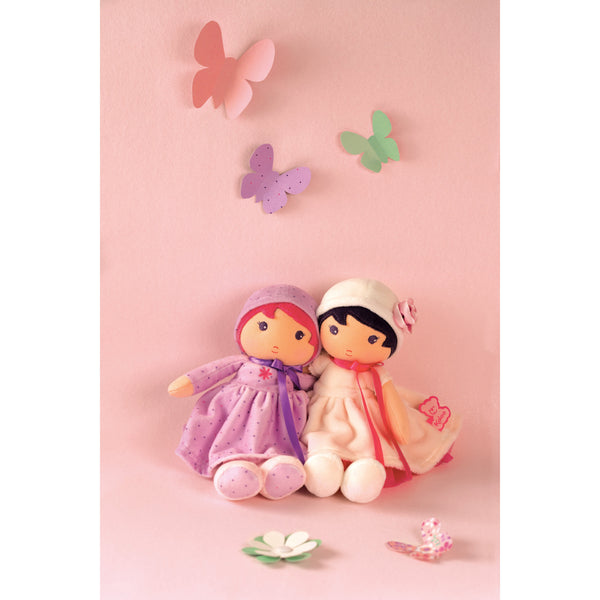 Tendresse Soft Doll Toy - Purple Lise Medium By Kaloo