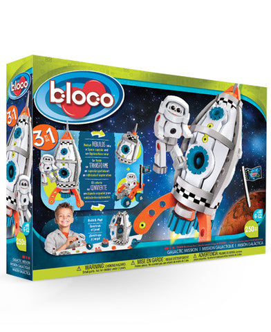 Galactic Mission By Bloco - Bloxx Toys - Toronto Online Toys Store - 1