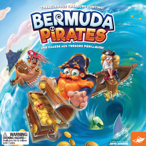 Bermuda Pirates Memory Board Game By FoxMind