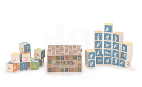 SIGN LANGUAGE BLOCKS - Bloxx Toys - Toronto Online Toys Store - 3