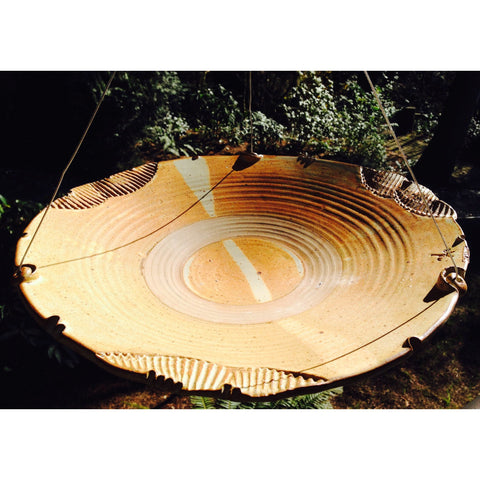 Image of Anthony Stoneware Large Birdbath