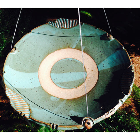 Image of Anthony Stoneware Medium Birdbath