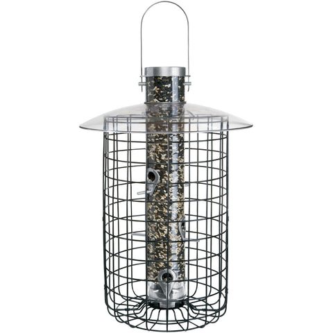 Image of Droll Yankee B7 Domed Cage Squirrel Proof Bird Feeder