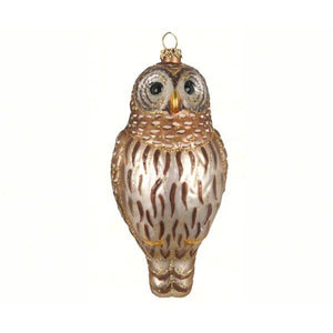 Barred Owl Ornament from Cobane
