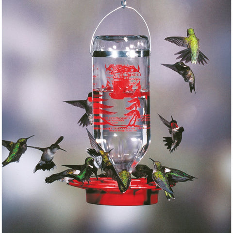 Image of Best One 32 Ounce Hummingbird Feeder