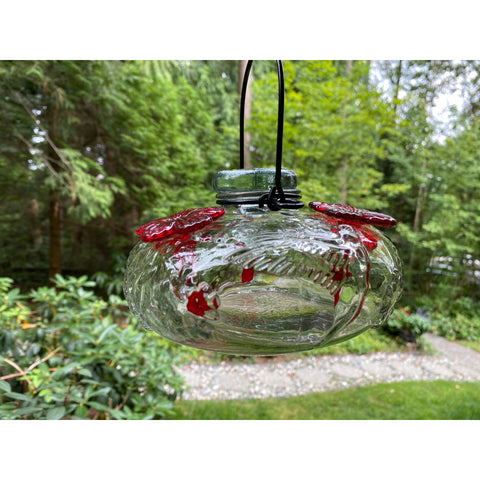 Parasol Bloom Calliope Hummingbird Feeder