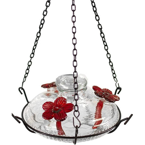 Parasol Bloom Perch Hummingbird Feeder