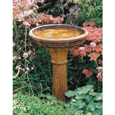 Image of Classic Bird Bath from Cast Art Studios