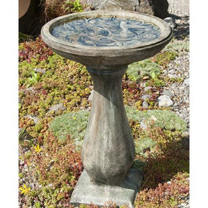 Hummingbird Bird Bath from Cast Art Studios