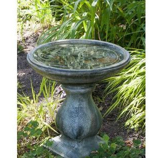 Image of Dragonfly Bird Bath from Cast Art Studios