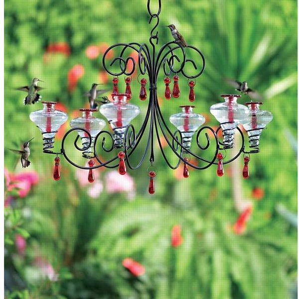 Parasol Grand Chandelier Hummingbird Feeder