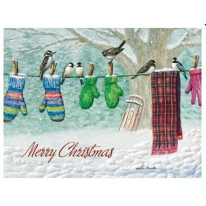 Pumpernickel Press Christmas Cards Clothesline Choir