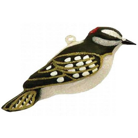 Downy Woodpecker Ornament from Cobane