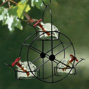 Parasol Ferris Wheel Hummingbird Feeder