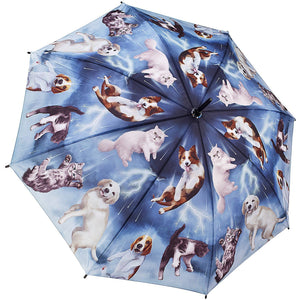 Umbrella Raining Cats & Dogs by Galleria