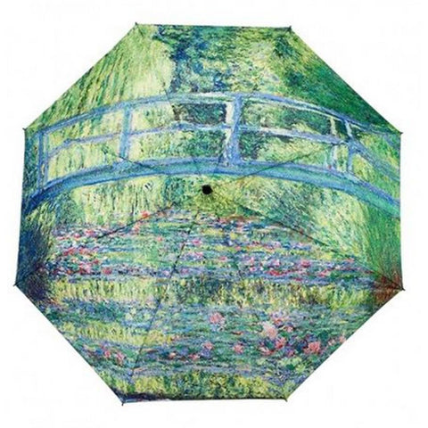 Umbrella Monet Water LilliesJapanese Bridge by Galleria