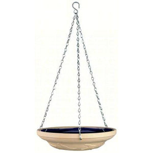 Gardman Glazed Ceramic Hanging Bird Bath
