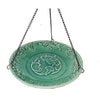Hummingbird Ceramic Hanging Bird Bath