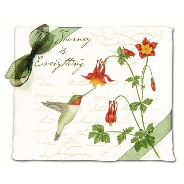 Hummingbird Flour Sack Towel Set of 2