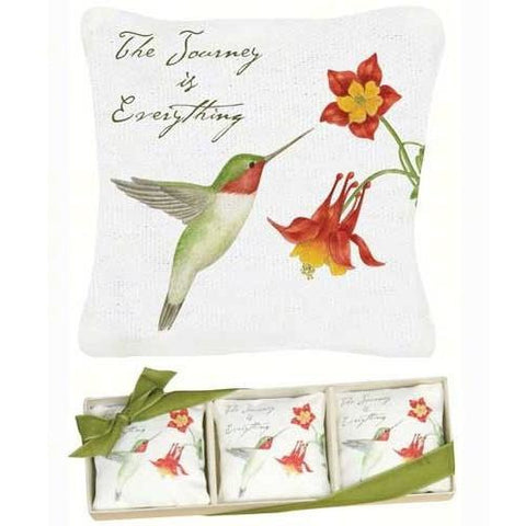 Hummingbird Gift Boxed Lavender Sachets Set of 3