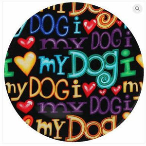 Andreas Silicone Trivet - I Luv My Dog