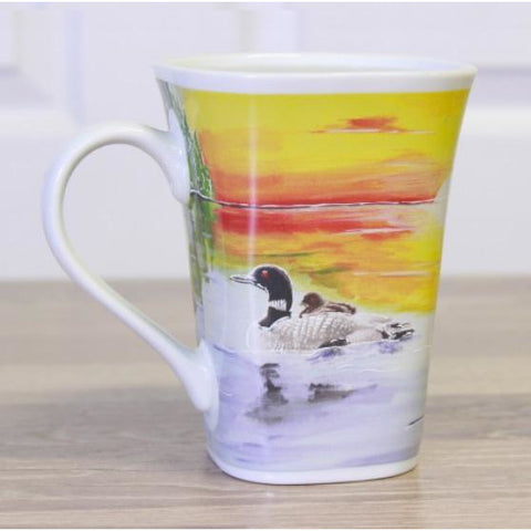 Image of Peaceful Loon Color Changing Story Mug
