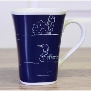 Peaceful Loon Color Changing Story Mug