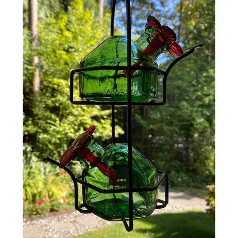 Image of Parasol Bouquet Lunch Pail 2 Hummingbird Feeder