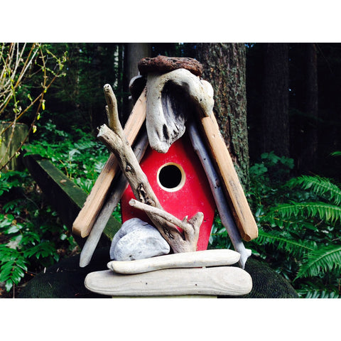 Image of Heritage Bird Shanty Medium Chickadee Bird House