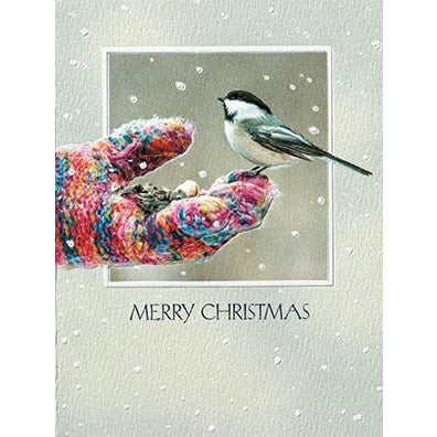 Pumpernickel Press Christmas Cards Mitten Snack
