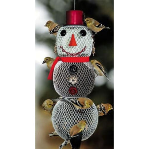Snow Lady Bird Feeder