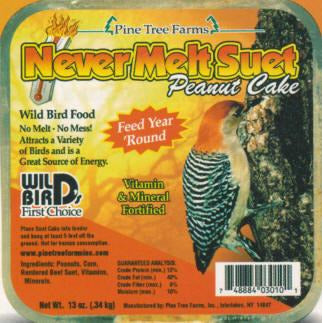 Pinetree Never-Melt Peanut Butter Suet
