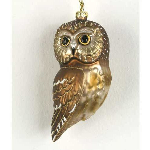 Northern Saw Whet Owl Ornament from Cobane