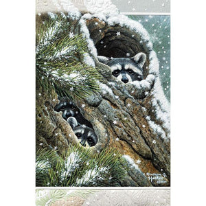 Pumpernickel Press Christmas Cards Peek-A-Boo