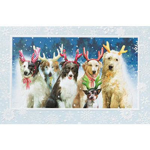 Pumpernickel Press Christmas Cards Reindeer Games